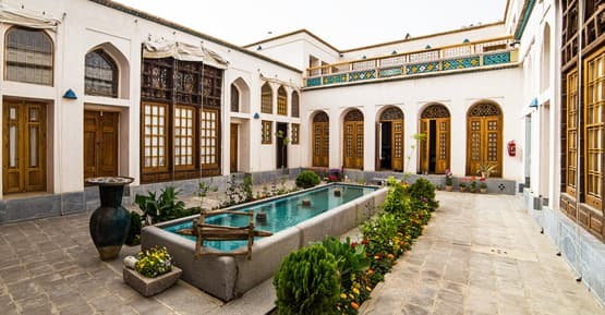 Historical Qajar house in Iran